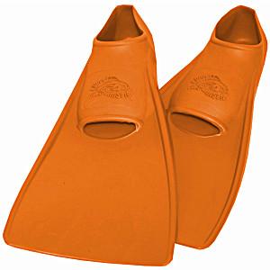 Ласты ProperCarry детские закрытая пятка для бассейна резиновые размер – 22 оранжевые ПРОПЕРКЭРРИ