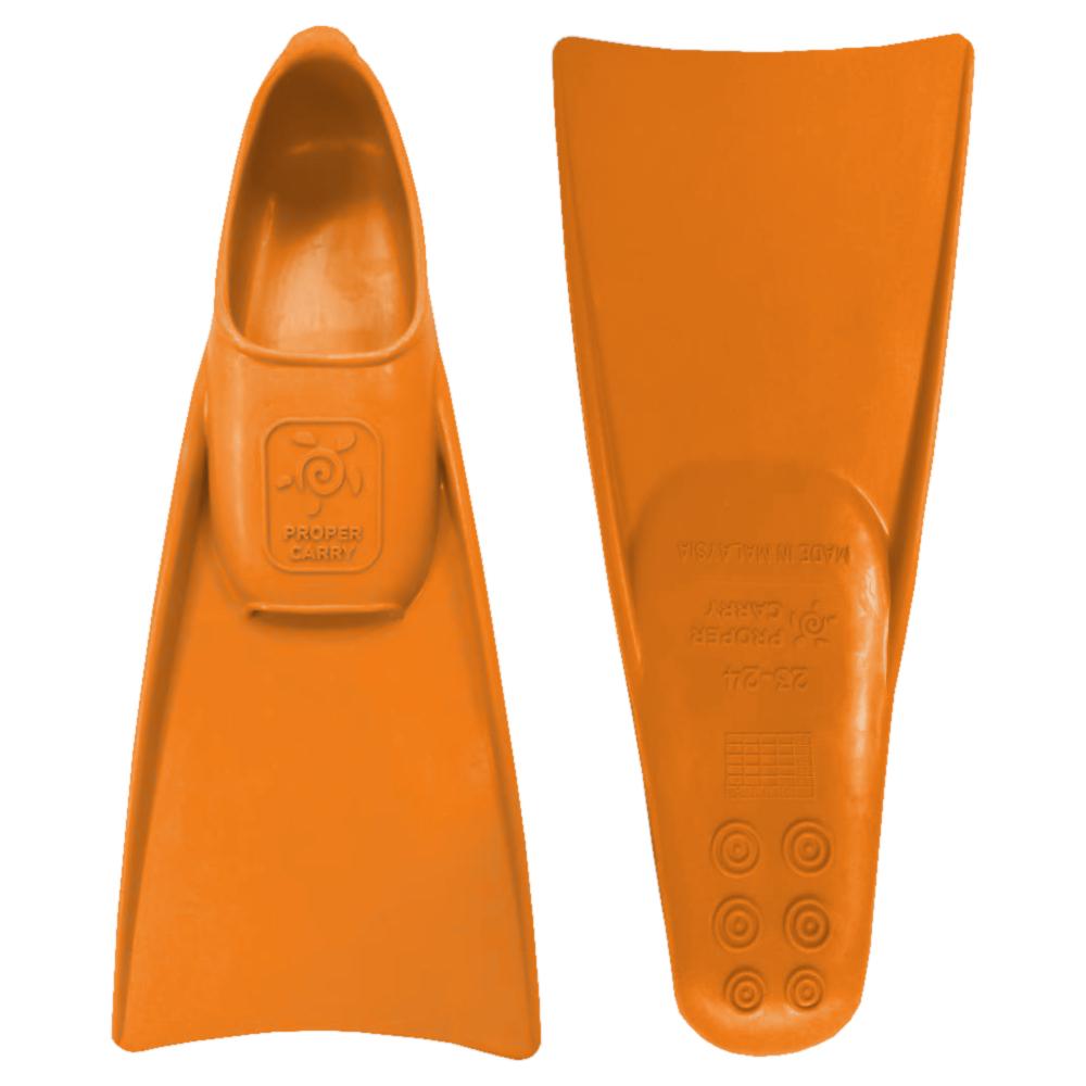 Ласты для грудничкового плавания ProperCarry оранжевые 23-24, - фото 1